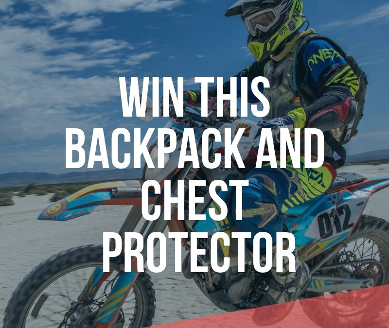 WIN A RECON BACKPACK & EXOTEC CHEST PROTECTOR