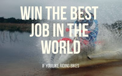 Win the best job in the world (if you like riding bikes)